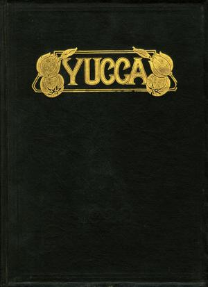 Primary view of object titled 'The Yucca, Yearbook of North Texas State Normal School, 1922'.