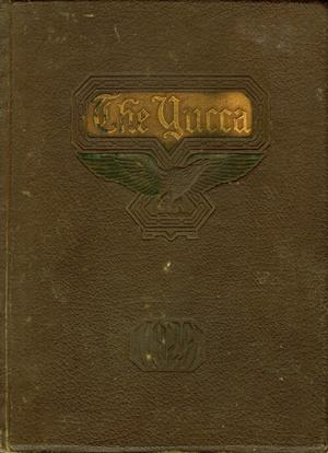 Primary view of object titled 'The Yucca, Yearbook of North Texas State Teacher's School, 1925'.