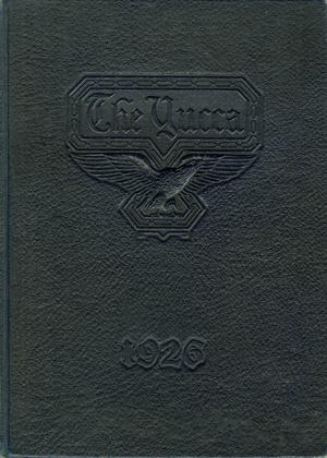 The Yucca, Yearbook of North Texas State Teacher's College, 1926