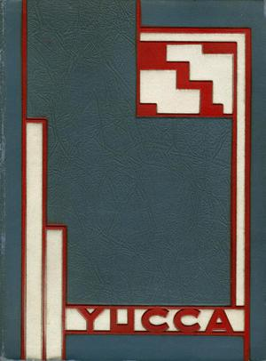 The Yucca, Yearbook of North Texas State Teacher's College, 1931