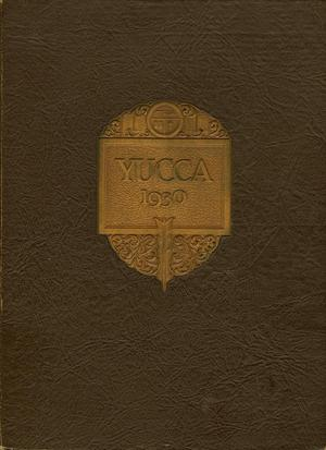 The Yucca, Yearbook of North Texas State Teacher's College, 1930
