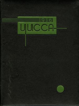 Primary view of object titled 'The Yucca, Yearbook of North Texas State Teacher's College, 1936'.