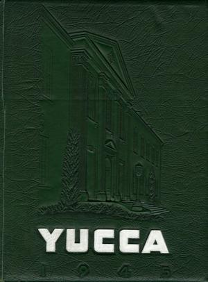 Primary view of object titled 'The Yucca, Yearbook of North Texas State Teacher's College, 1945'.