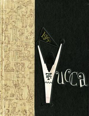 Primary view of object titled 'The Yucca, Yearbook of North Texas State College, 1951'.
