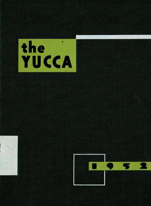 The Yucca, Yearbook of North Texas State College, 1952