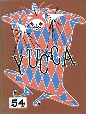 The Yucca, Yearbook of North Texas State College, 1954