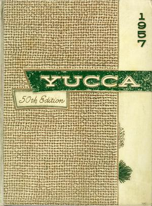 Primary view of object titled 'The Yucca, Yearbook of North Texas State College, 1957'.
