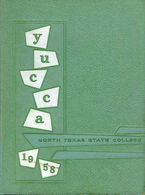 The Yucca, Yearbook of North Texas State College, 1958