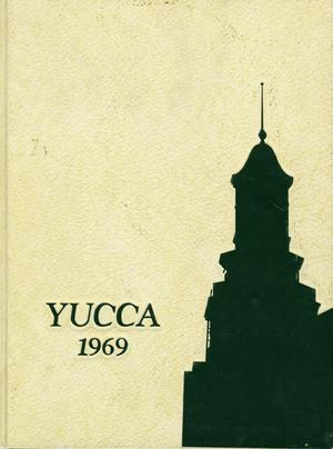 Primary view of object titled 'The Yucca, Yearbook of North Texas State University, 1969'.