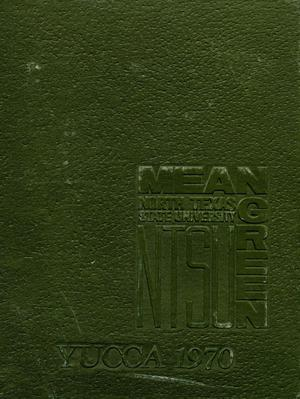 Primary view of object titled 'The Yucca, Yearbook of North Texas State University, 1970'.