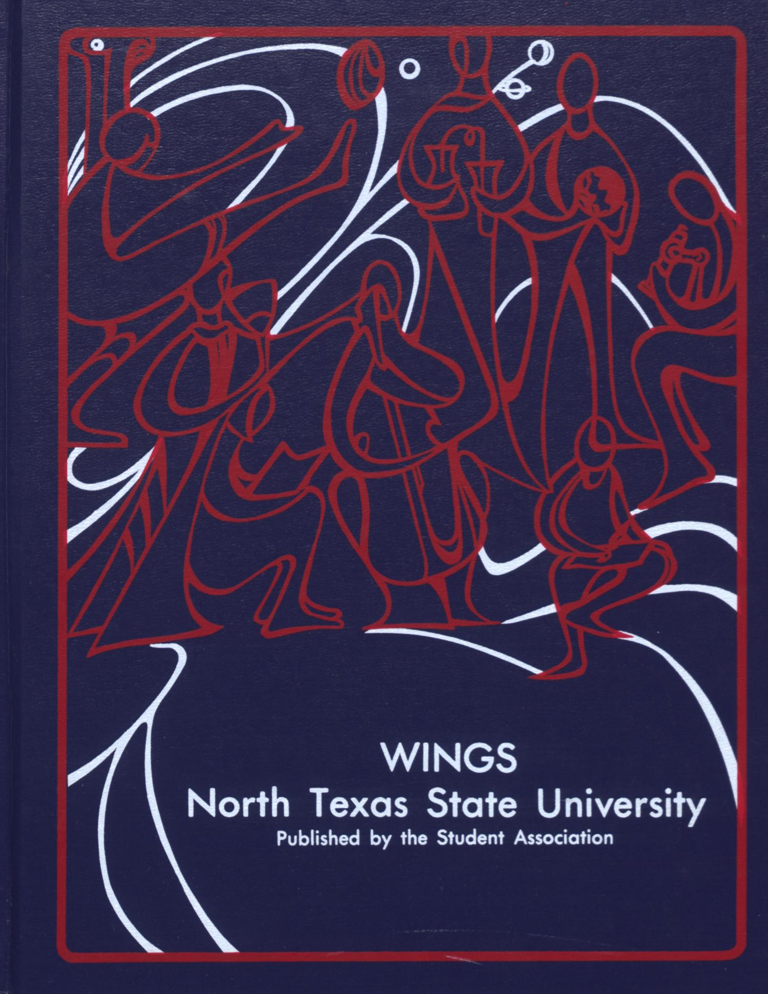Wings, Yearbook of North Texas State University, 1977                                                                                                      Front Cover