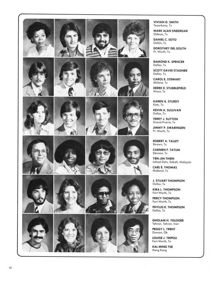 Wings Yearbook Of North Texas State University 1979