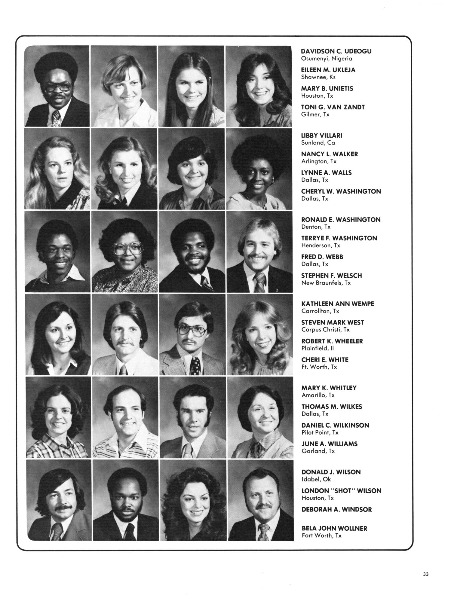 The aerie yearbook of university of north texas 1995 page 44 unt - Wings Yearbook Of North Texas State University 1979 Page 33 Digital Library