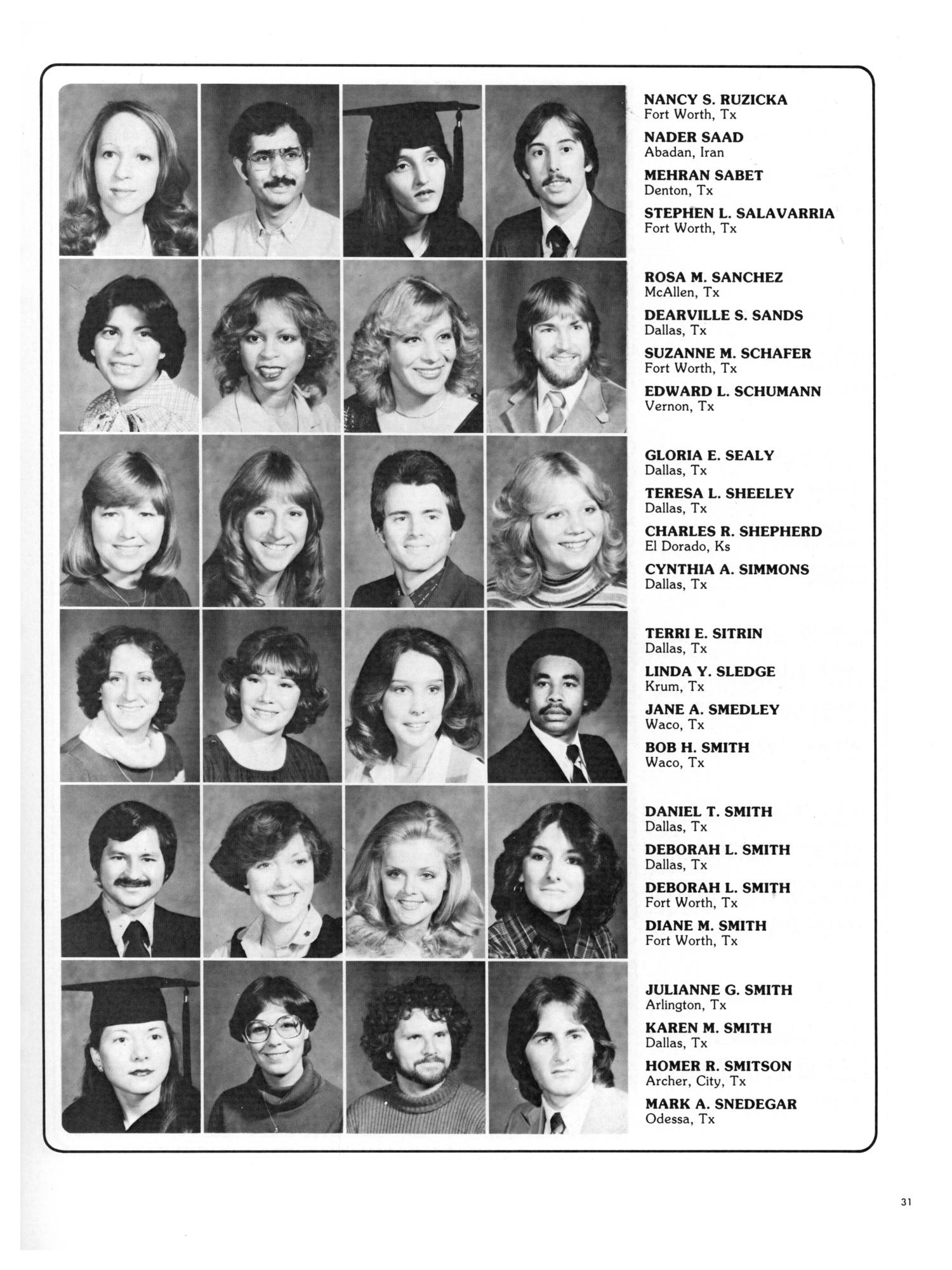 The aerie yearbook of university of north texas 1995 page 44 unt - Wings Yearbook Of North Texas State University 1980 Page 31 Digital Library