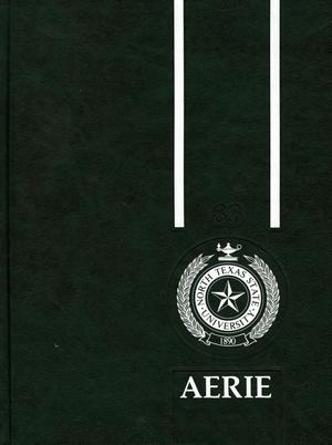 The Aerie, Yearbook of North Texas State University, 1983