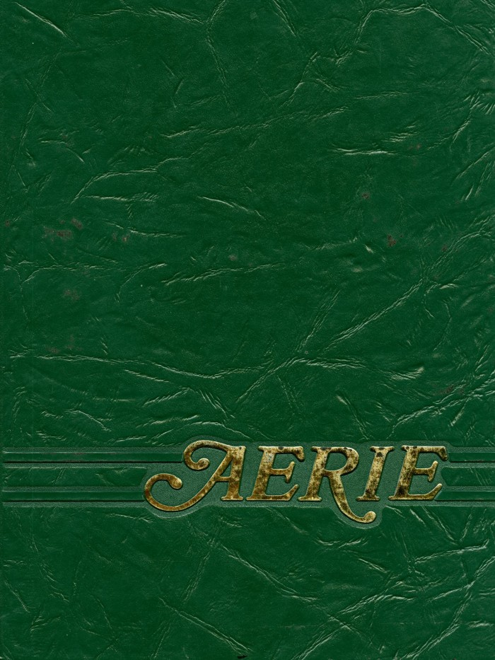 Primary View Of Object Titled U0027The Aerie, Yearbook Of North Texas State  University,  Unt Blackboard