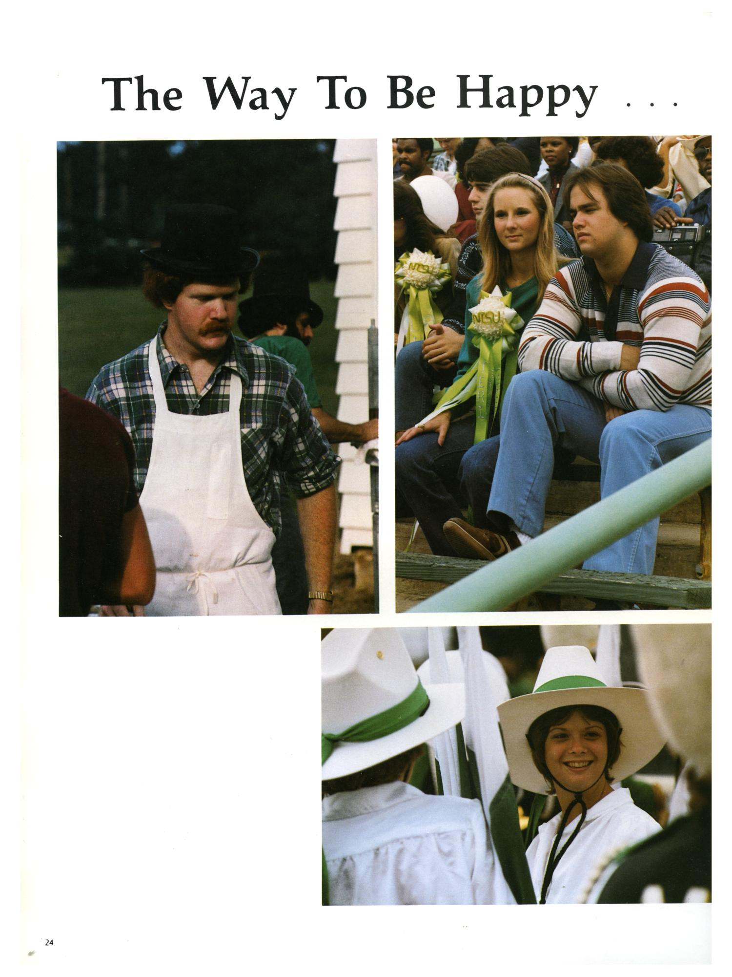 The Aerie, Yearbook of North Texas State University, 1982                                                                                                      24