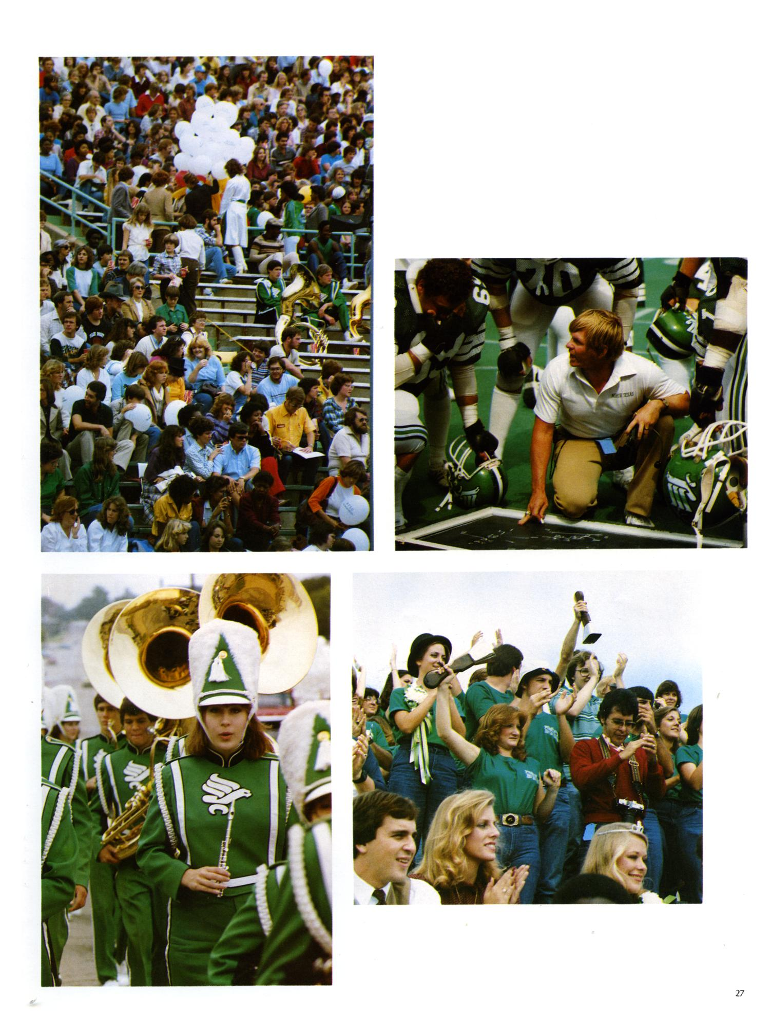 The Aerie, Yearbook of North Texas State University, 1982                                                                                                      27