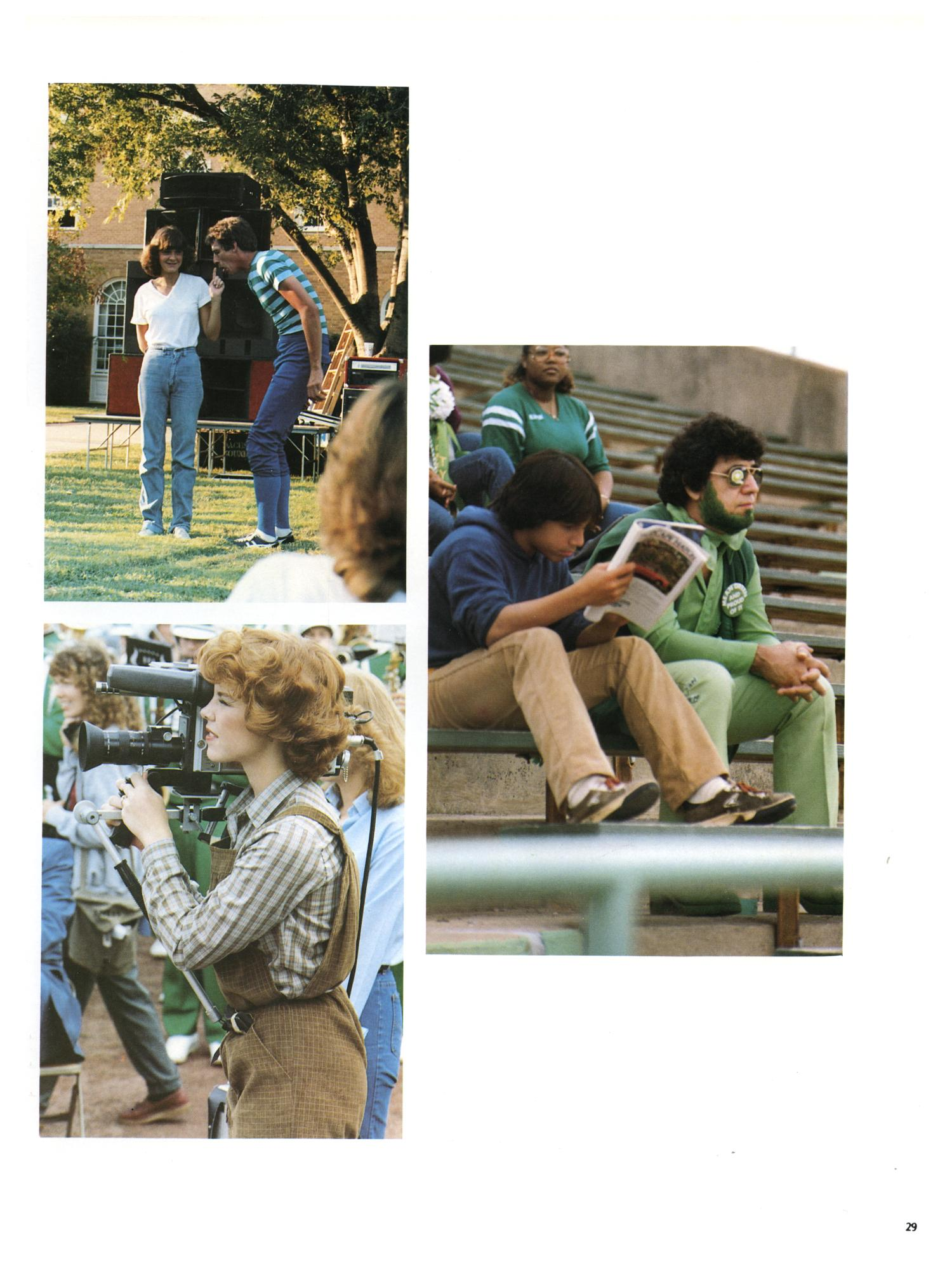 The Aerie, Yearbook of North Texas State University, 1982                                                                                                      29