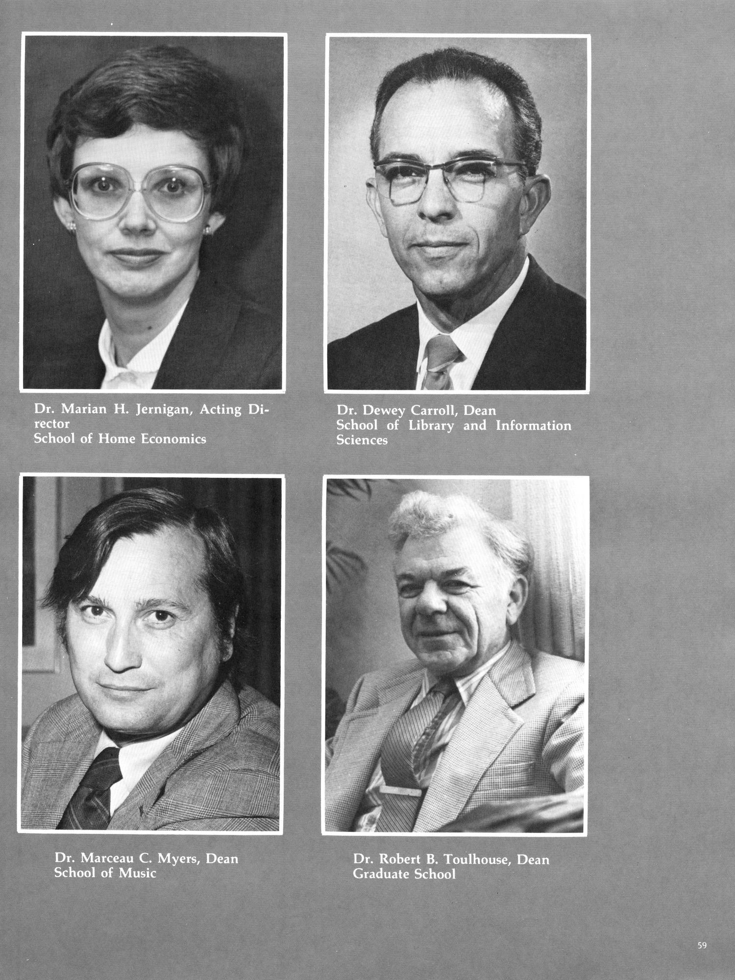 The Aerie, Yearbook of North Texas State University, 1982                                                                                                      59