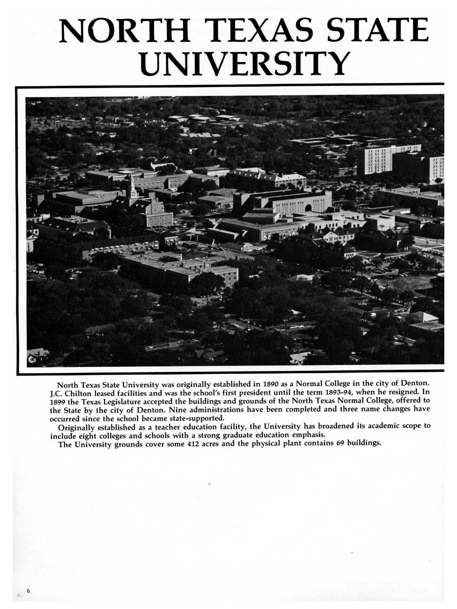The Aerie, Yearbook of North Texas State University, 1982                                                                                                      6