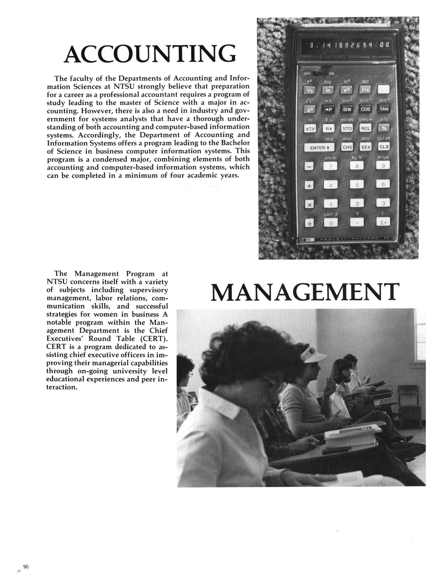 The Aerie, Yearbook of North Texas State University, 1982                                                                                                      90