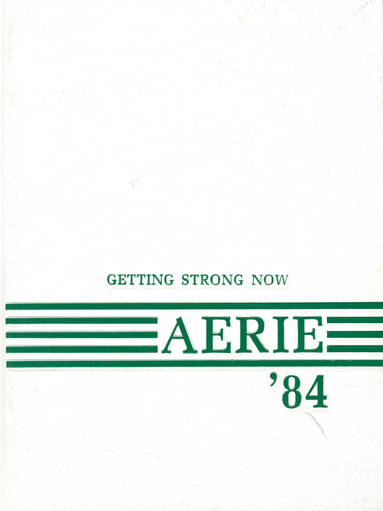 The Aerie, Yearbook of North Texas State University, 1984                                                                                                      Front Cover