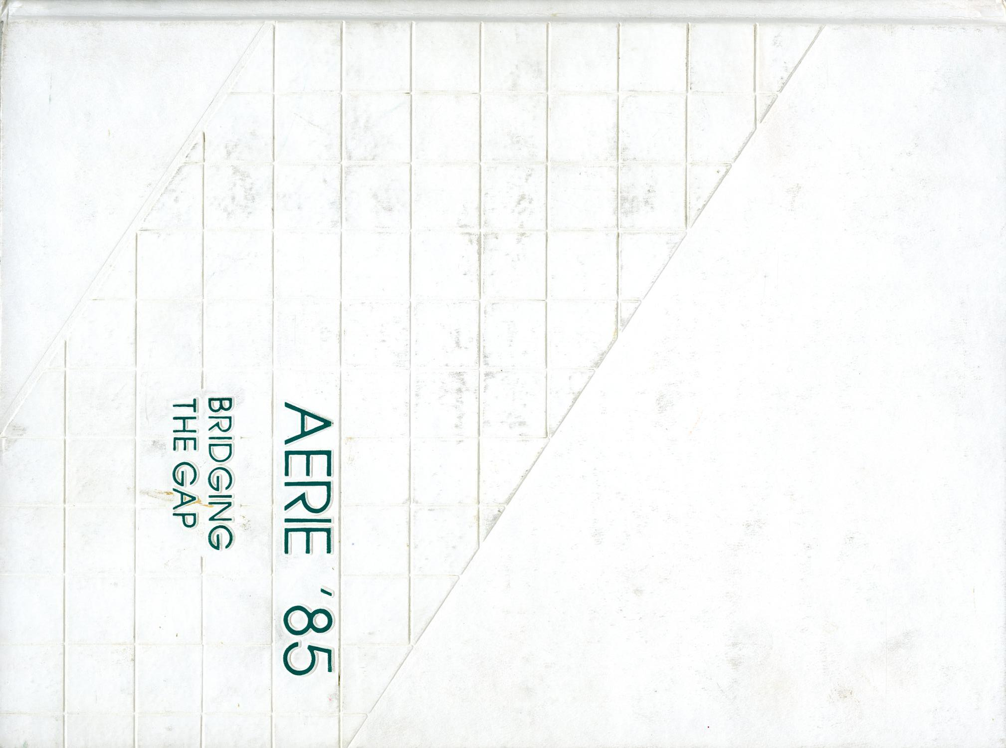 The Aerie, Yearbook of North Texas State University, 1985                                                                                                      Front Cover