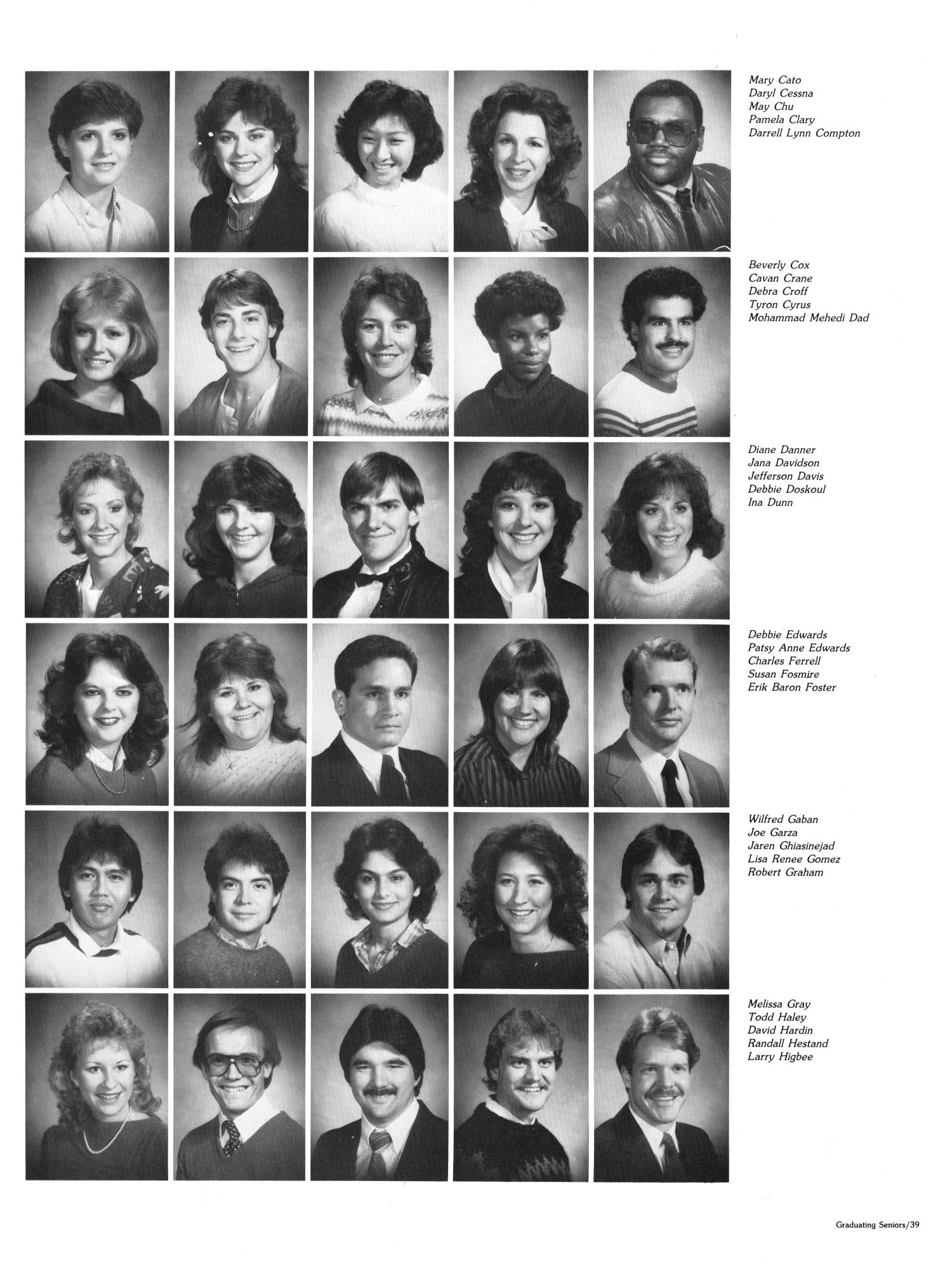 The Aerie, Yearbook of North Texas State University, 1985                                                                                                      39
