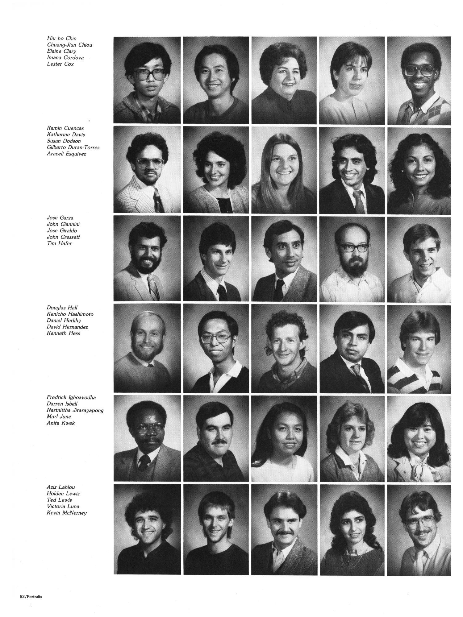 The Aerie, Yearbook of North Texas State University, 1985                                                                                                      52