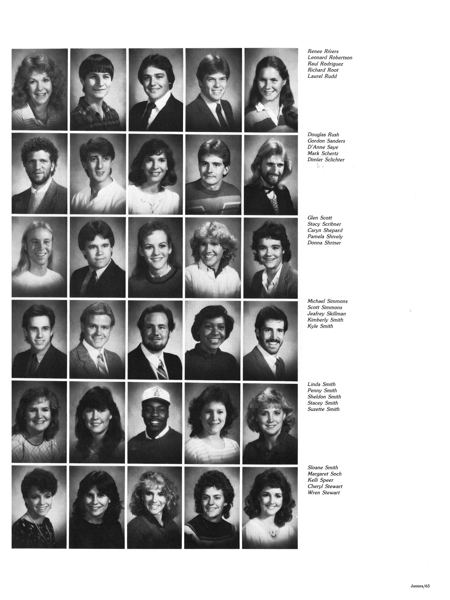 The Aerie, Yearbook of North Texas State University, 1985                                                                                                      63