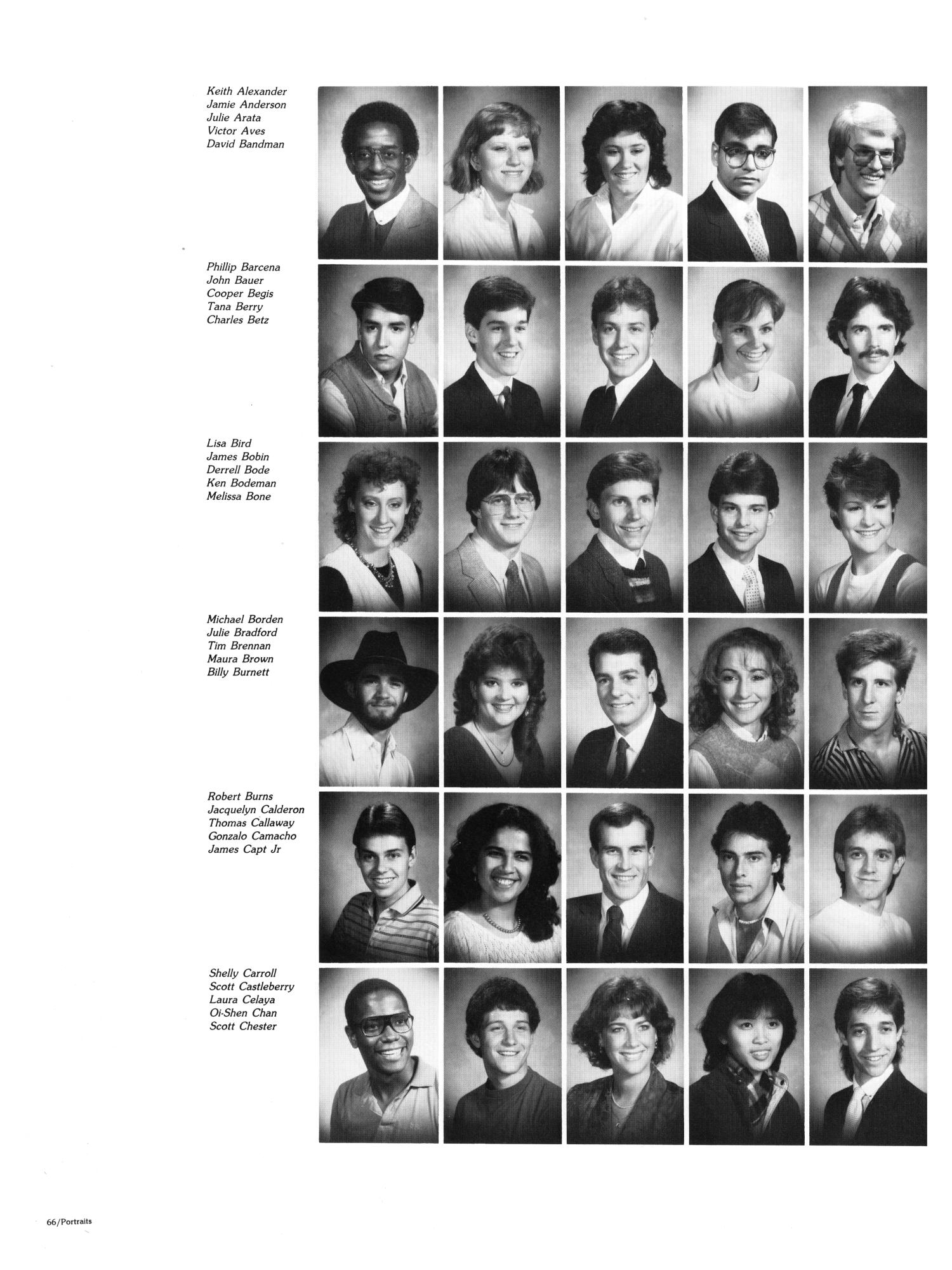 The Aerie, Yearbook of North Texas State University, 1985                                                                                                      66