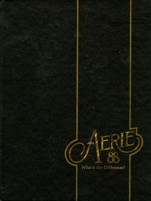 The Aerie, Yearbook of North Texas State University, 1988