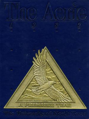 The Aerie, Yearbook of University of North Texas, 1989