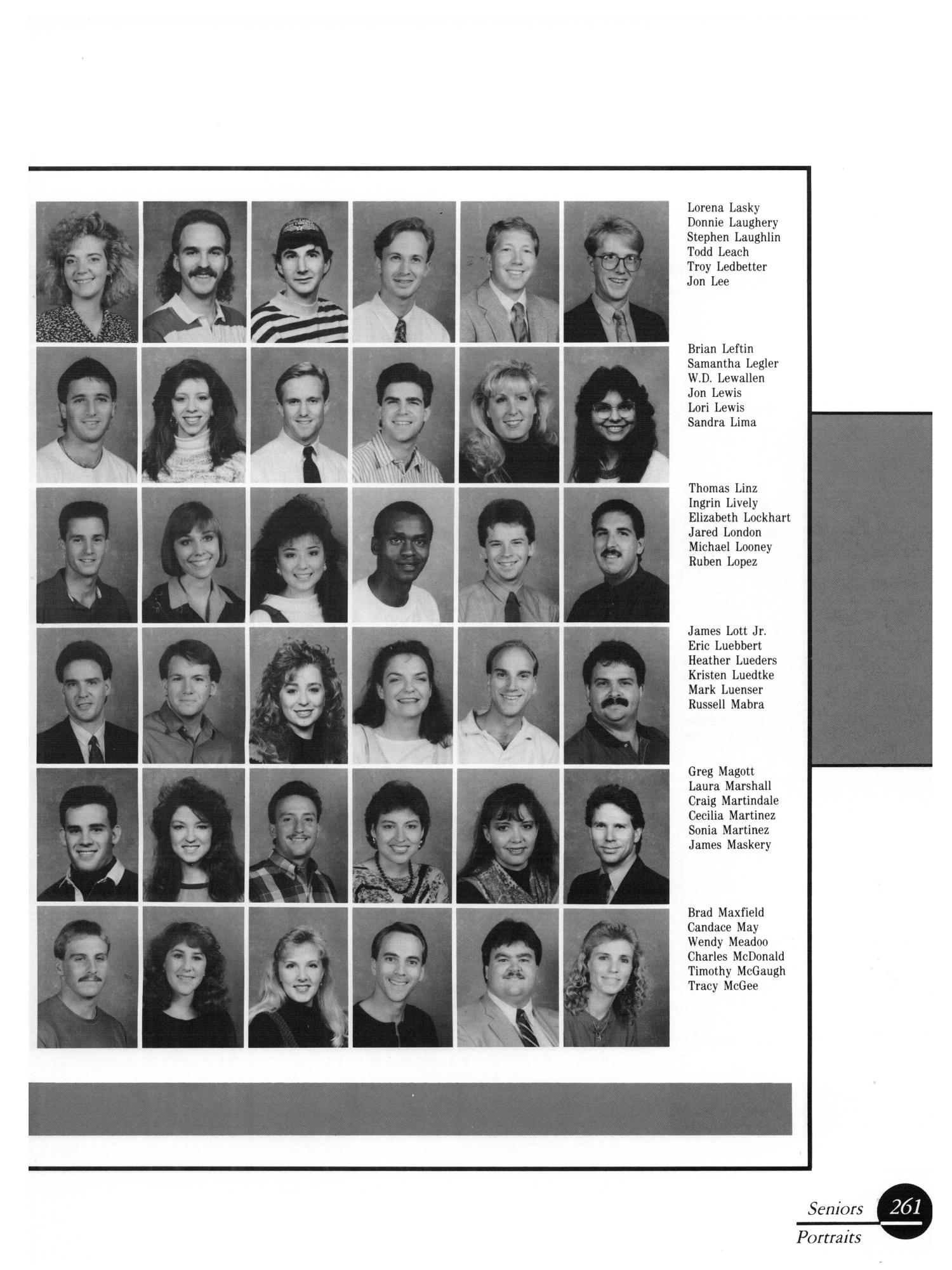 The Aerie, Yearbook of University of North Texas, 1990                                                                                                      262