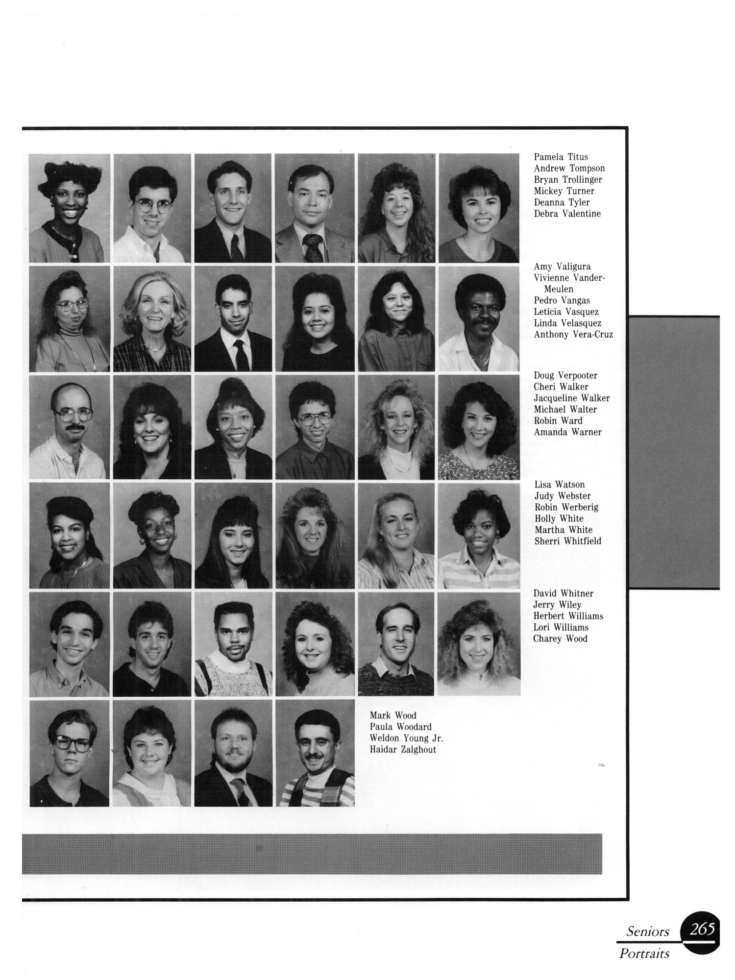 The Aerie, Yearbook of University of North Texas, 1990                                                                                                      265