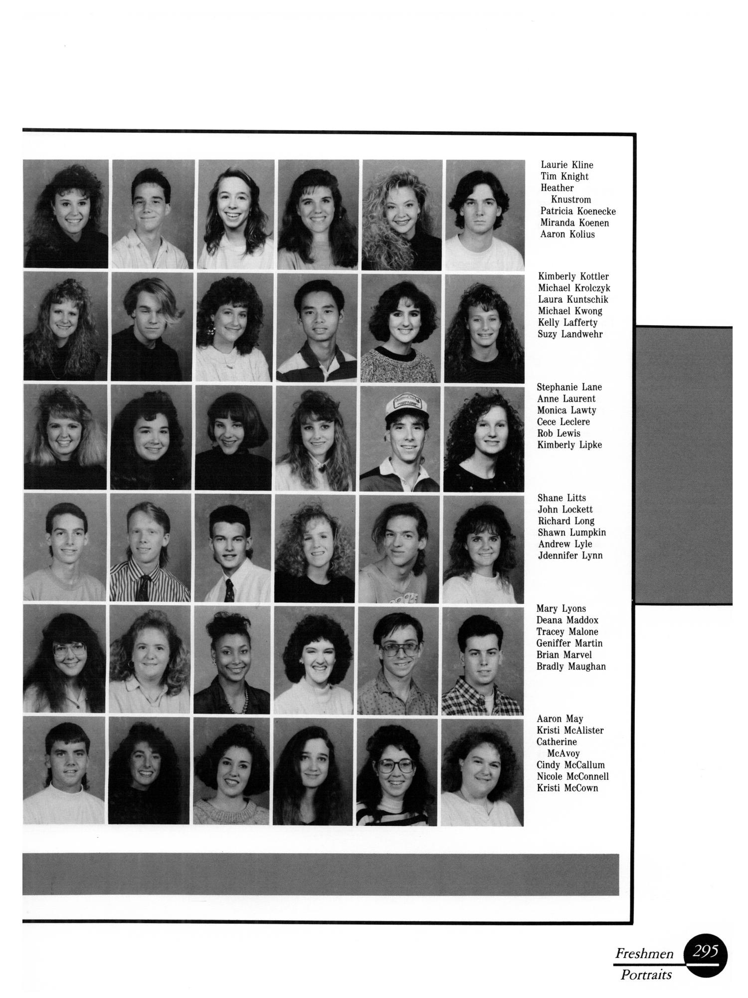 The Aerie, Yearbook of University of North Texas, 1990                                                                                                      295