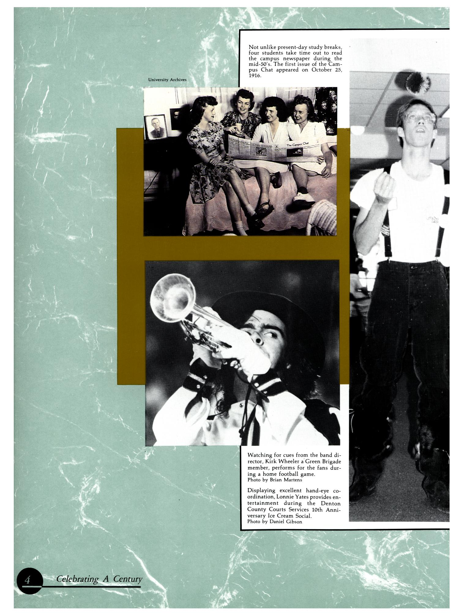 The Aerie, Yearbook of University of North Texas, 1990                                                                                                      4