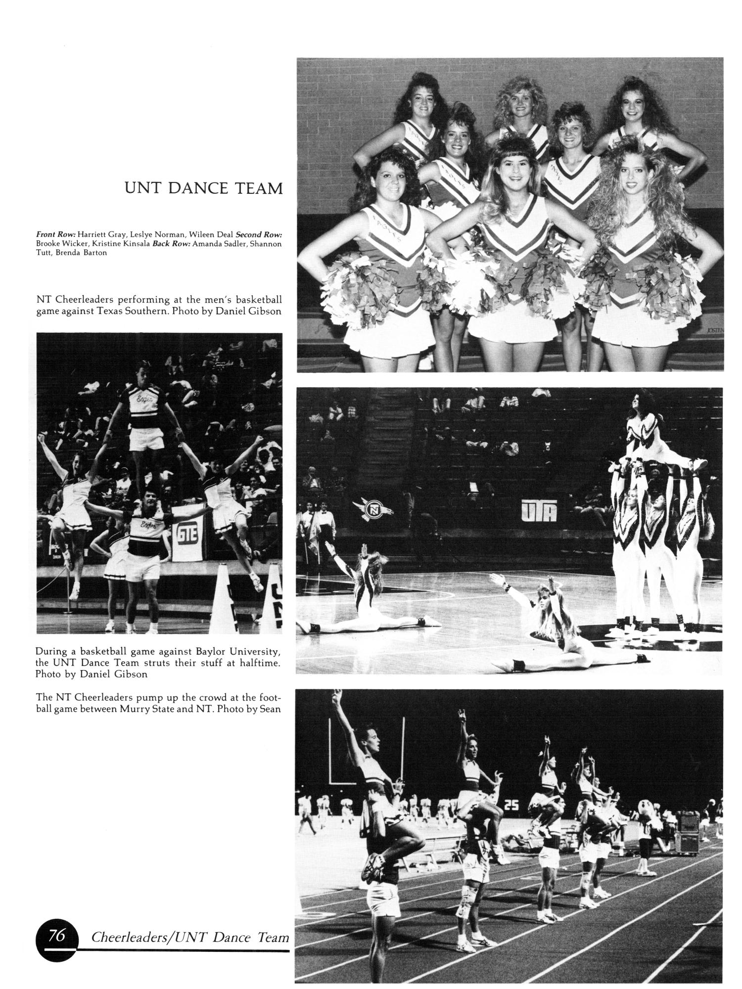 The Aerie, Yearbook of University of North Texas, 1990                                                                                                      76