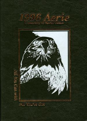 Primary view of object titled 'The Aerie, Yearbook of University of North Texas, 1996'.