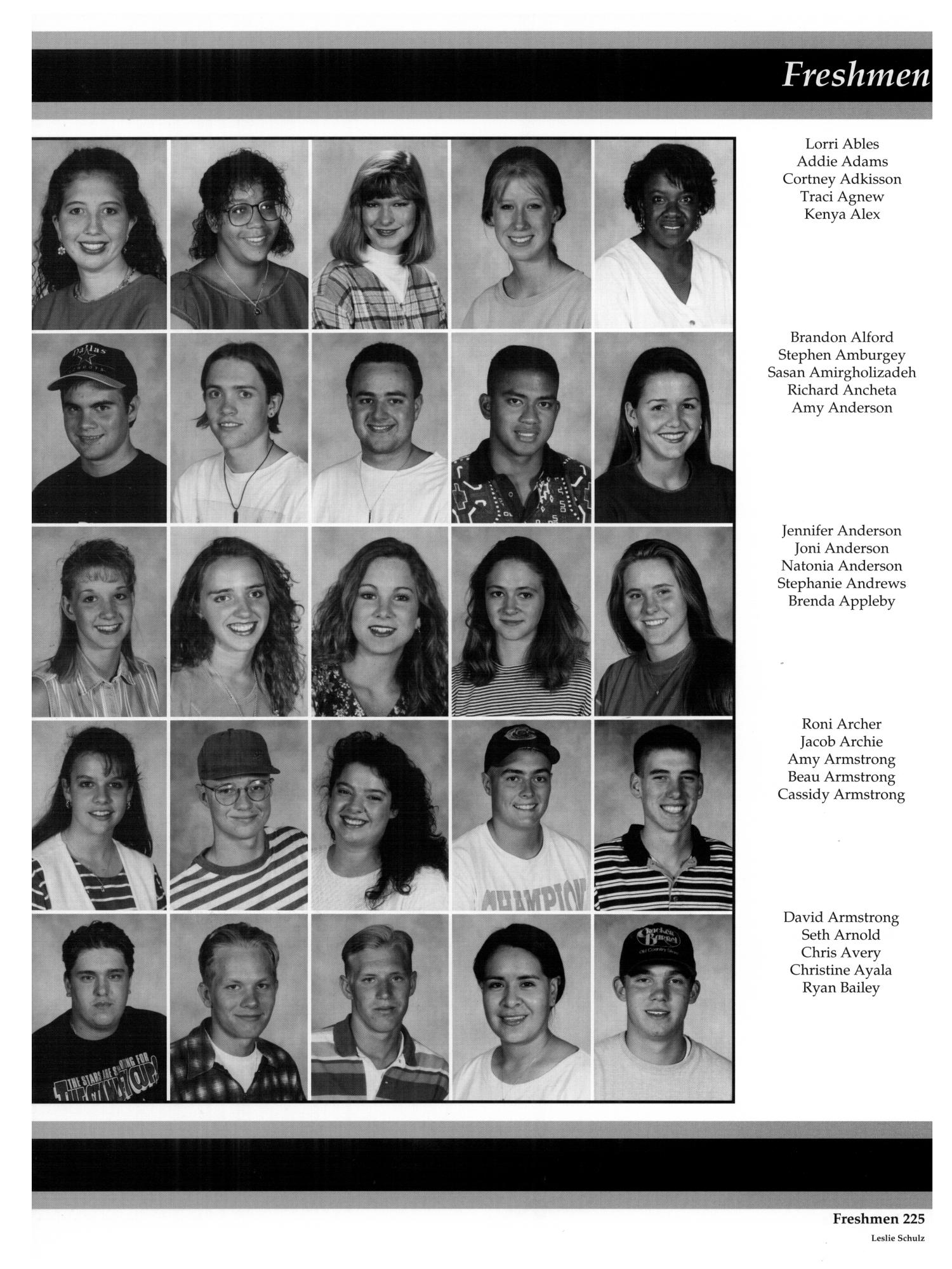 The aerie yearbook of university of north texas 1995 page 44 unt - The Aerie Yearbook Of University Of North Texas 1995 Page 225 Digital Library