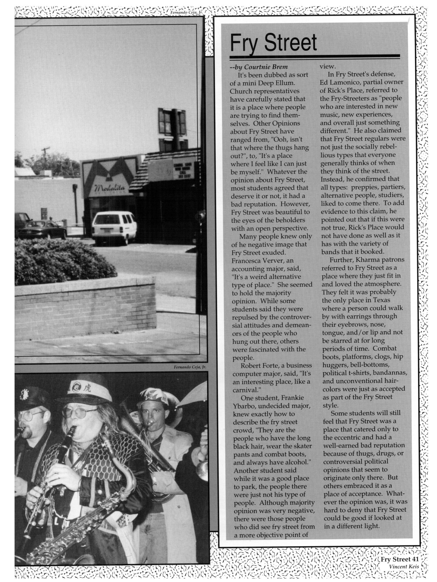The aerie yearbook of university of north texas 1995 page 44 unt - The Aerie Yearbook Of University Of North Texas 1995 Page 41 Digital Library