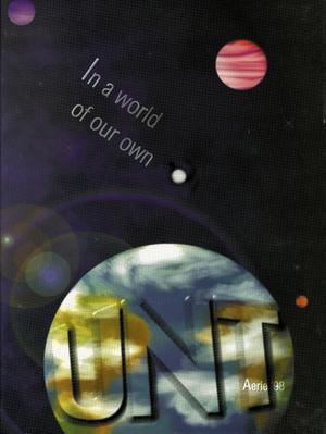 Primary view of object titled 'The Aerie, Yearbook of University of North Texas, 1998'.