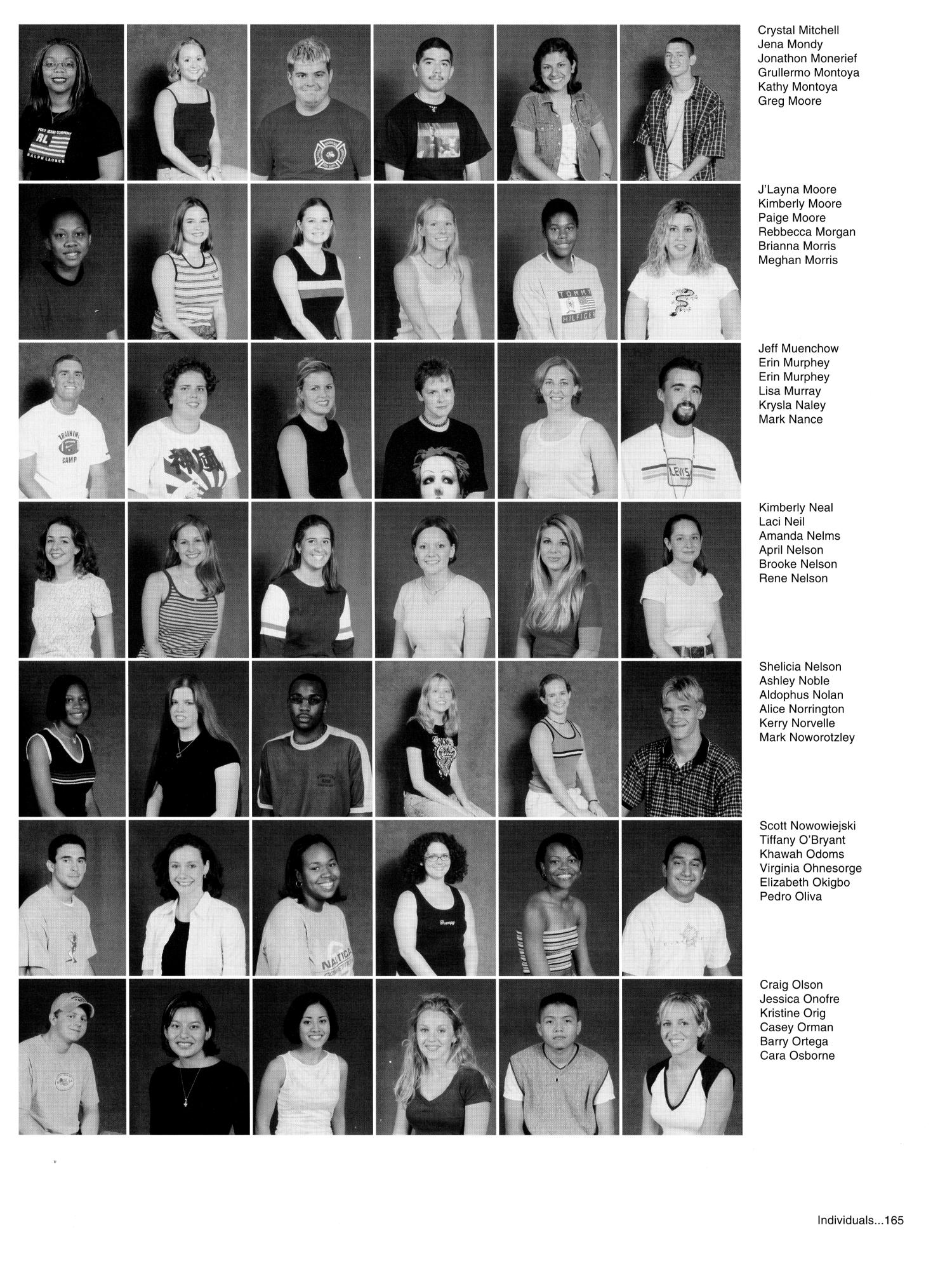the aerie yearbook of university of north texas page  the aerie yearbook of university of north texas 2000 page 165 digital library