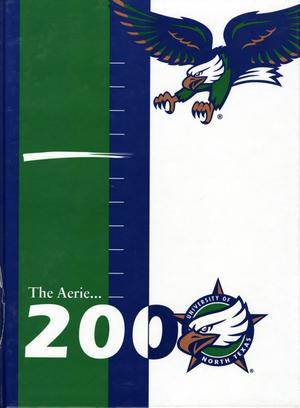 The Aerie, Yearbook of University of North Texas, 2000