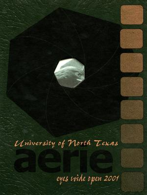 The Aerie, Yearbook of University of North Texas, 2001