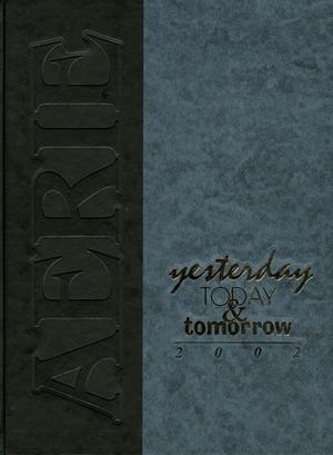 Primary view of object titled 'The Aerie, Yearbook of University of North Texas, 2002'.