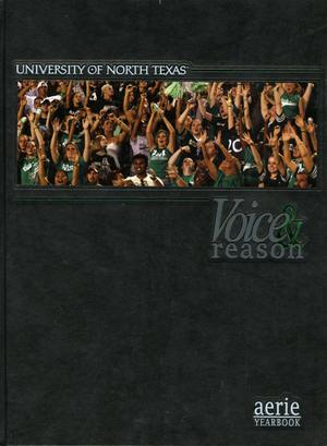 Primary view of object titled 'The Aerie, Yearbook of University of North Texas, 2006'.