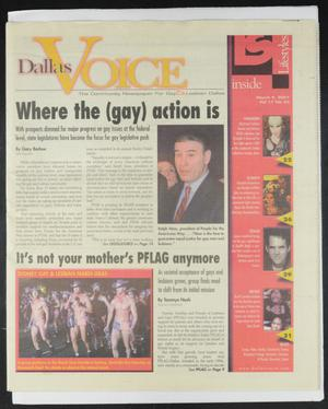 Primary view of object titled 'Dallas Voice (Dallas, Tex.), Vol. 17, No. 45, Ed. 1 Friday, March 9, 2001'.