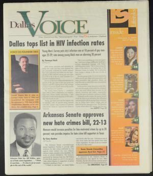 Primary view of object titled 'Dallas Voice (Dallas, Tex.), Vol. 17, No. 41, Ed. 1 Friday, February 9, 2001'.